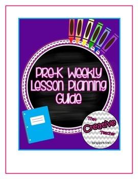 Preschool Weekly Planning Guide