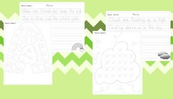Preschool Weekly Writing - March