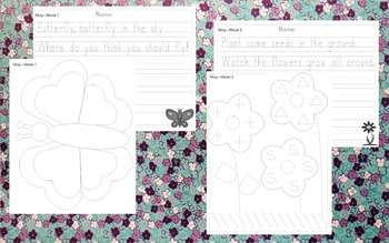 Preschool Weekly Writing - May