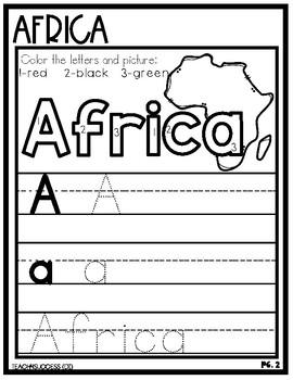 Preschool Welcome to ......Bundle (Seven Continents)