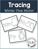 Preschool Winter Activities Tracing Task Cards Pre-k, Special Needs