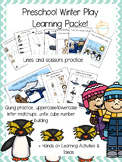 Preschool Winter Animals Play Packet