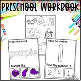 Preschool Workbook