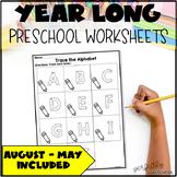 Preschool Worksheet Bundle