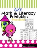 Preschool Worksheets - April