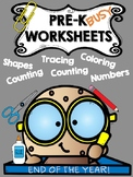 Preschool Worksheets End of the Year. Cookies and more!