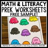 Preschool Worksheets FREE SAMPLE