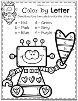 preschool worksheets february by planning playtime tpt. Black Bedroom Furniture Sets. Home Design Ideas