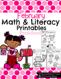 Preschool Worksheets - February