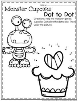 Preschool Worksheets - February