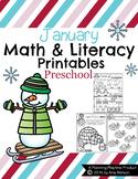 Preschool Worksheets - January