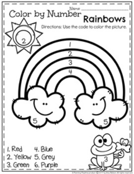 preschool worksheets march by planning playtime tpt. Black Bedroom Furniture Sets. Home Design Ideas