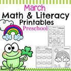 Preschool Worksheets - March
