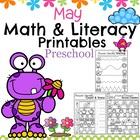 Preschool Worksheets - May
