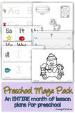 Preschool Worksheets Mega Pack Vol 1