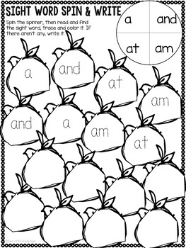 Preschool Worksheets Take Home Packet for Spring 4 Year Olds