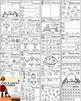 Preschool Worksheets - The Full Year Bundle