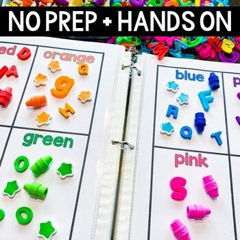 Preschool Worksheets for Binder