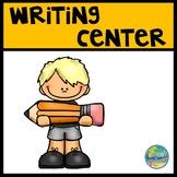 Preschool Writing Center