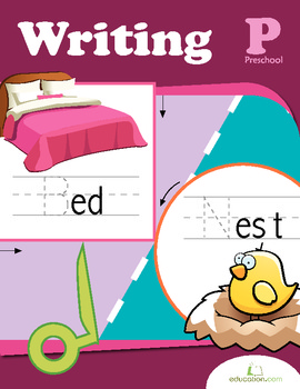 Preschool Writing Workbook