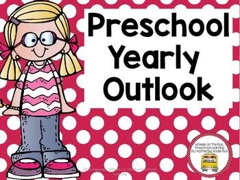 Preschool Yearly Outlook