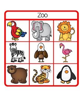 Preschool Center - Zoo Lotto