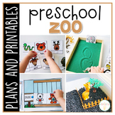 Preschool: Zoo {Plans and Printables}