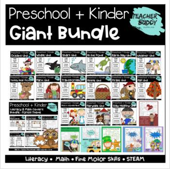 Preschool and Kinder - Giant Bundle!!!