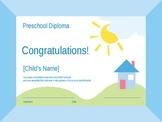 Preschool and Kindergarden Awards