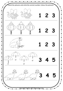 Preschool and Kindergarten Activities Worksheets