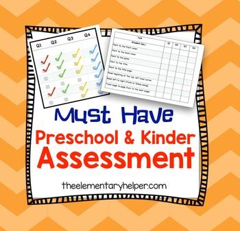 Preschool and Kindergarten Assessment