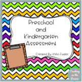 Preschool and Kindergarten Assessments