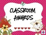 Preschool and Kindergarten Awards
