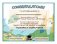 Diploma + Invitation for Preschool and Kindergarten Grads DR SEUSS OH THE PLACES