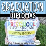Graduation Diplomas and Certificates EDITABLE
