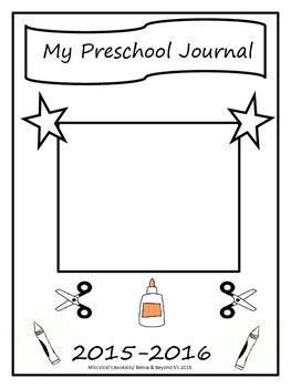 Preschool and Kindergarten Journal Pages Starters