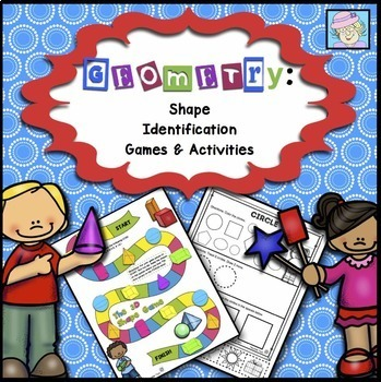 Geometry Shape Identification Games and Activities