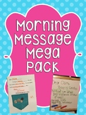Preschool and Kindergarten Morning Message Mega Pack