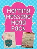 Preschool and Kindergarten Morning Message Mega Pack
