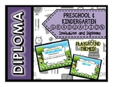 Preschool and Kindergarten Playground Theme Diploma - VARIETY PACK