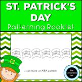 Preschool and Kindergarten Saint Patrick's Day Patterns Activity