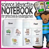 Science Interactive Notebook for Preschool and Kindergarten