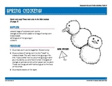 Preschool and Kindergarten Spring Arts and Crafts Projects