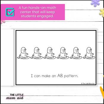 Preschool and Kindergarten Spring Patterns Activity
