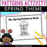 Preschool and Kindergarten Spring Math Patterns Activity