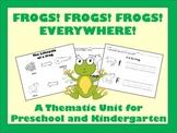 Preschool and Kindergarten Unit Plan - Frogs