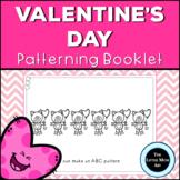 Preschool and Kindergarten Valentine's Day Math Patterning Activity