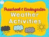 Preschool and Kindergarten Weather Activities