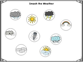 Preschool and Kindergarten Weather Activities