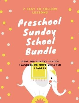 Preschool and MOPS Sunday School Bundle